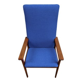 1960s Danish Teak Side Chair For Sale