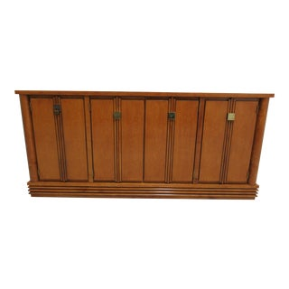 Biedermeier Hickory White Genesis Sideboard Buffet For Sale
