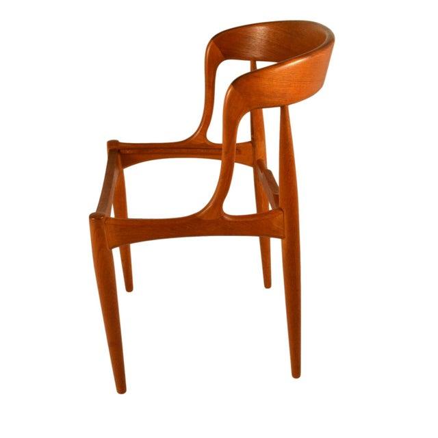 Johannes Andersen Teak Dining Chairs- Set of 6 - Image 6 of 6