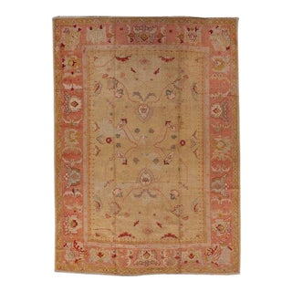 Beige Ground Oushack Carpet For Sale