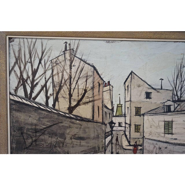 This oil on canvas painting of the 1960s was created by the iconic French artist Charles Levier (aka Maurice Verrier) b....