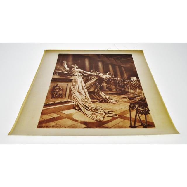 """""""Norma Act II Scene X"""" William De Leftwich Dodge Photogravure - Image 4 of 7"""