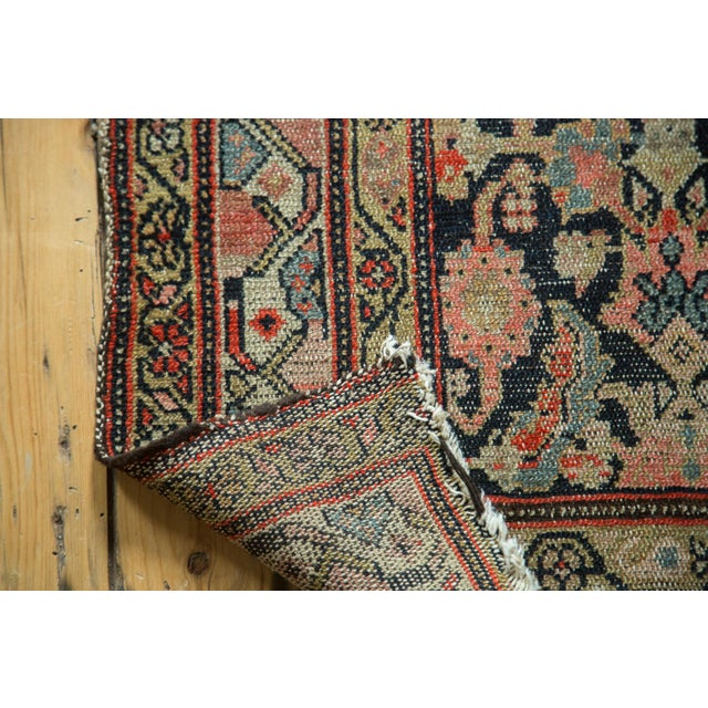 "Antique Hamadan Rug Runner - 4' X 8'10"" - Image 4 of 10"