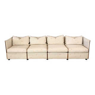 "1970s Vintage Mario Bellini for Cassina Postmodern ""Landeau"" Modular Sofa For Sale"