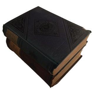Antique Cyclopedia & Law Books - Pair