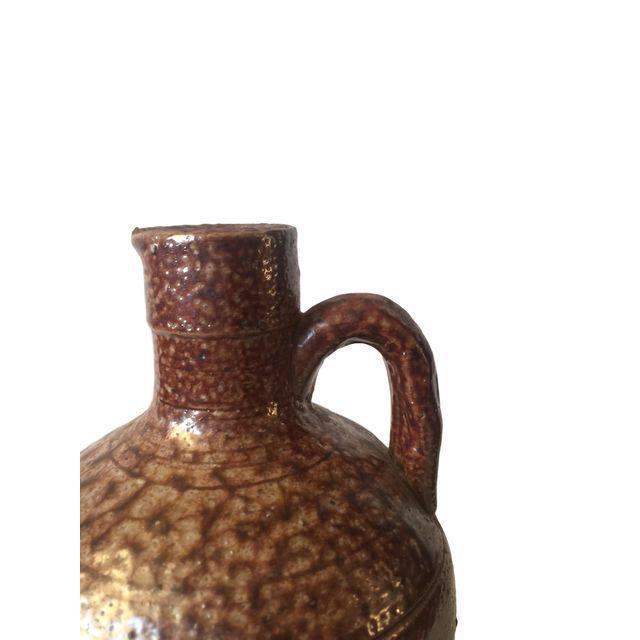 Brown Ceramic Southwestern Jug For Sale In San Francisco - Image 6 of 7