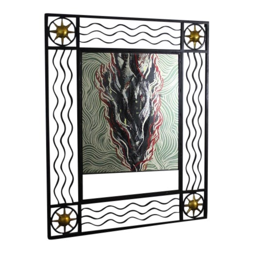 Poillerat Style Mirror For Sale
