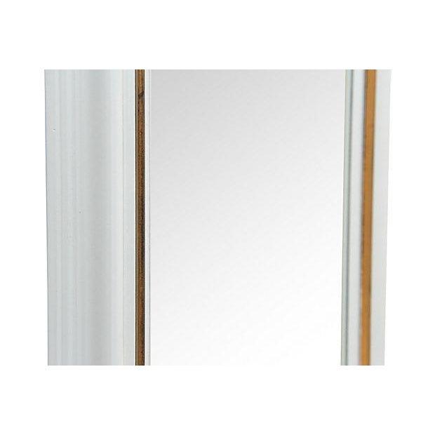 Rectangular Gray Framed Wall Mirror - Image 5 of 5