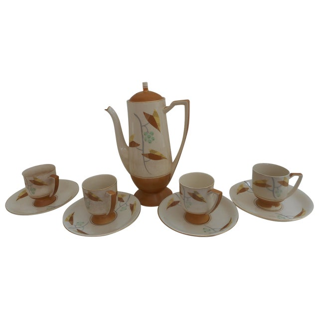 1940s Art Deco-Style Tea Set - Image 1 of 6