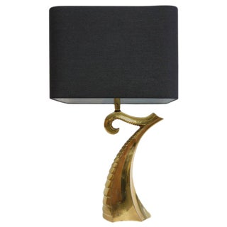 Brass Tentacle Table Lamp For Sale