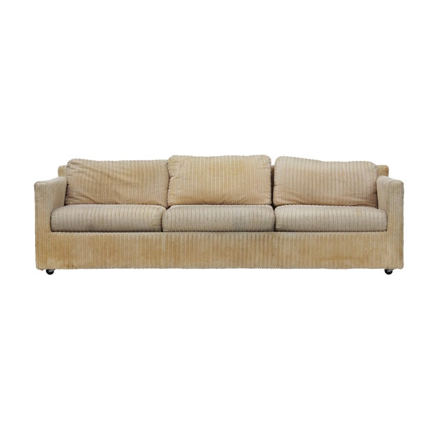 Parsons Sofa by Milo Baughman for Thayer Coggin For Sale