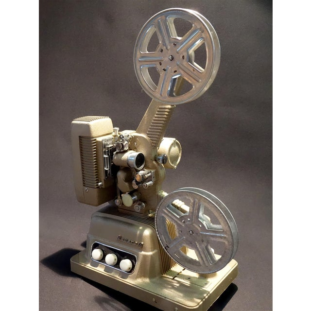 Vintage 16mm Movie Projector Circa 1954 in an Impressive Large Size, by Revere Camera Company For Sale - Image 10 of 10