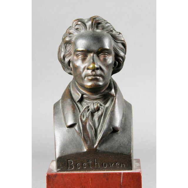 Interesting Collection of Ten Busts of Composers For Sale In Boston - Image 6 of 11