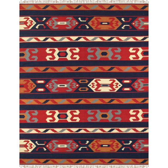 Not Yet Made - Made To Order Anatolian Hand-Woven Cotton Rug- 4' X 6' For Sale - Image 5 of 5