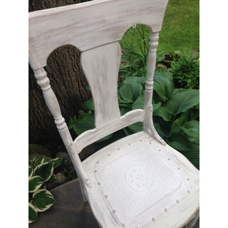 Antique Victorian High Back Oak Chair Preview