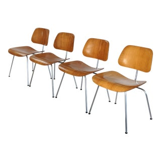 1950s Mid-Century Modern Herman Miller DCM Chairs - Set of 4