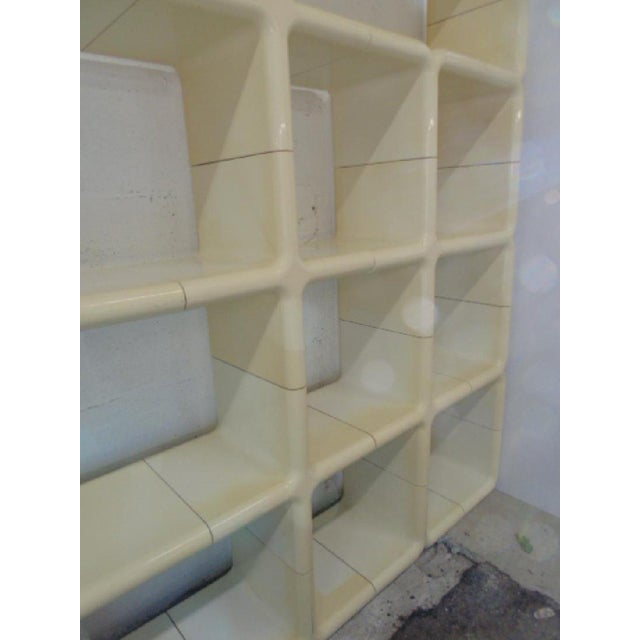 Final Markdown Kay Leroy Ruggles for Directional 1970 Umbo Modular Shelving For Sale - Image 5 of 6