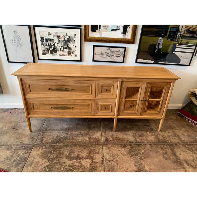 Mid-Century Walnut Sideboard by Tomlinson For Sale - Image 9 of 9