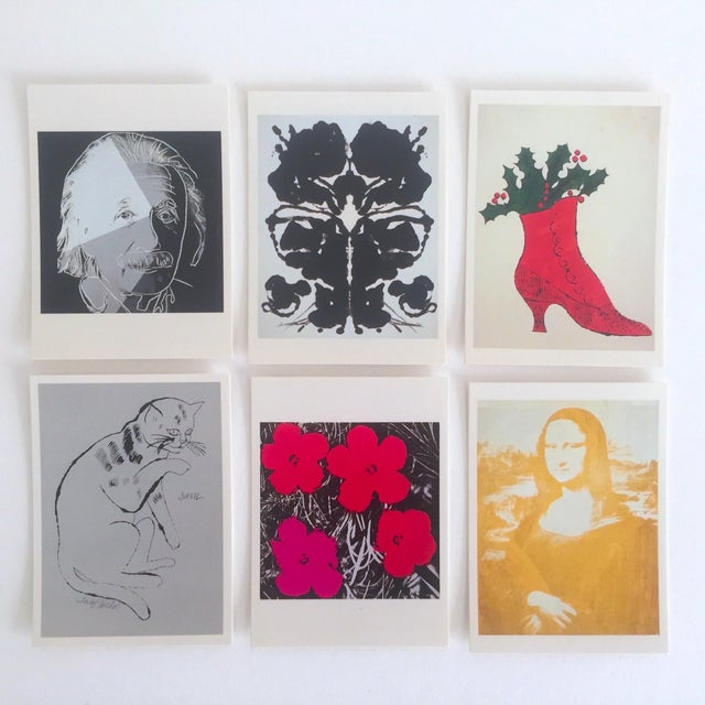 Andy Warhol Rare Vintage 1995 Pop Art Collector's Trading Cards - Set of 36 - Image 7 of 12