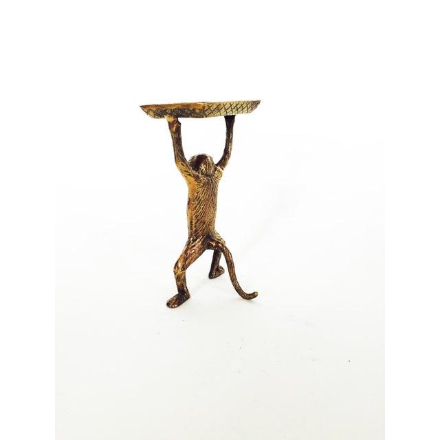 Vintage Brass Monkey Dish - Image 5 of 5