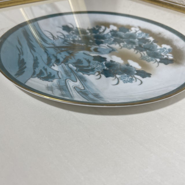 Framed Imari Japanese Bird Plates - a Pair For Sale - Image 9 of 13