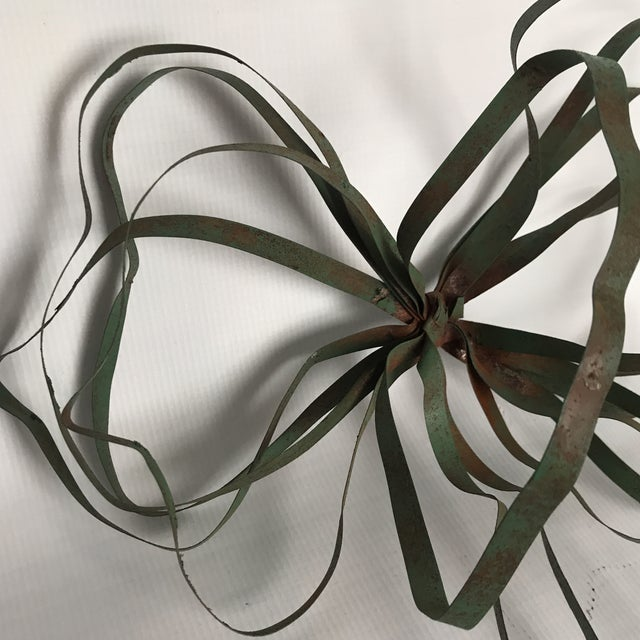 Vintage Green Tole Bow - Image 2 of 6