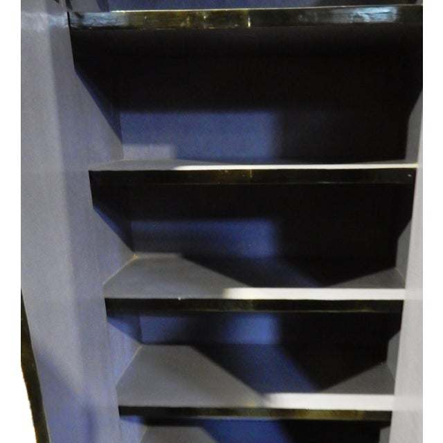 Black Lacquer Armoire - Image 7 of 10