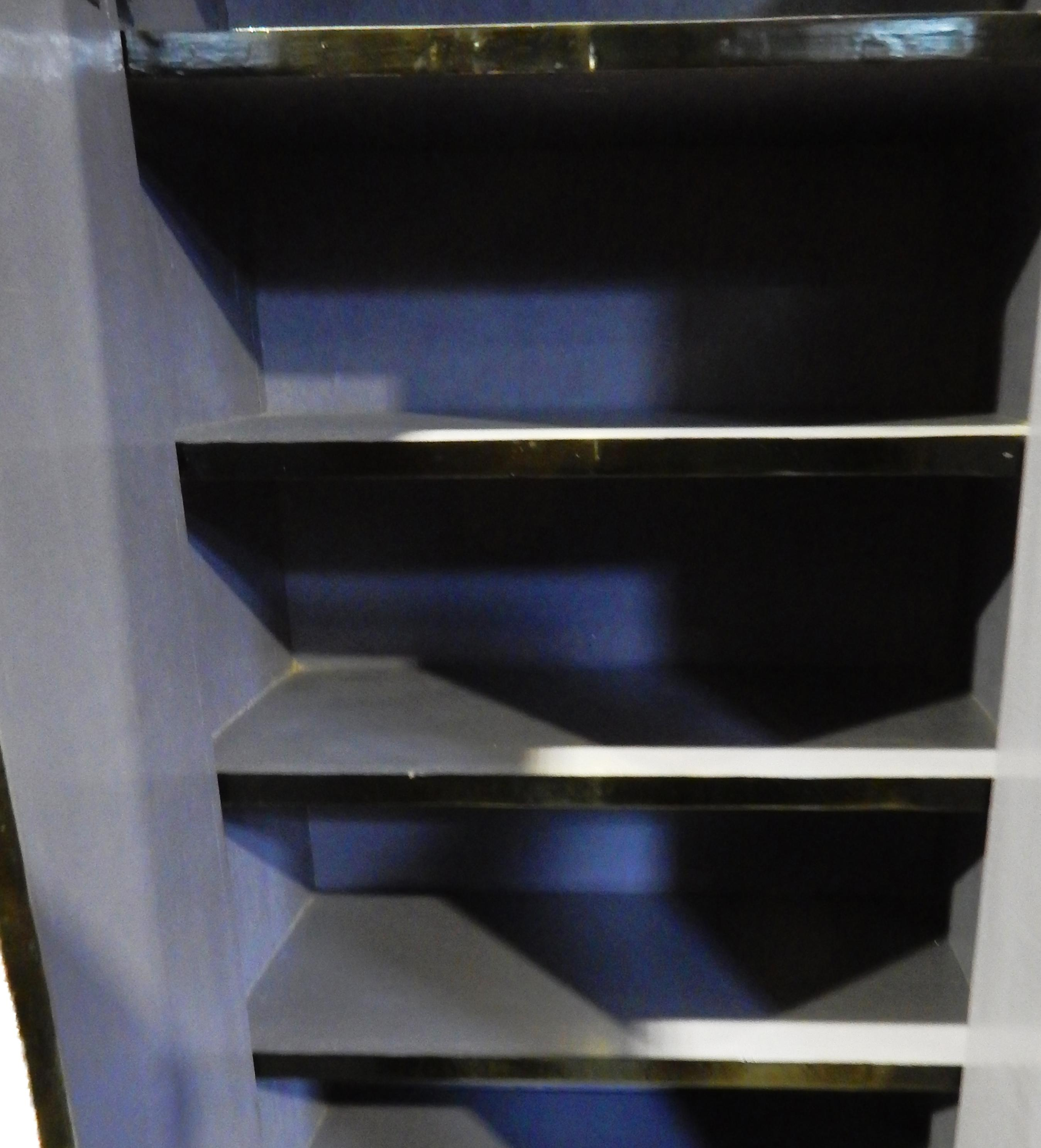 Black Lacquer Armoire   Image 7 Of 10