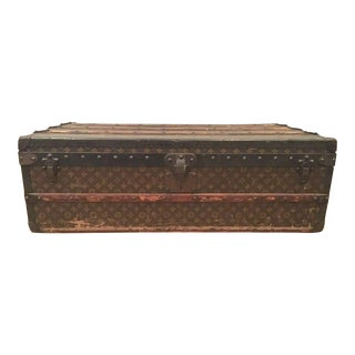 Vintage 1920s Louis Vuitton Trunk For Sale