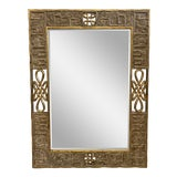 Image of Late 20th Century Dauphine Harrison & Gil Scroll Gilt Wall Mirror For Sale