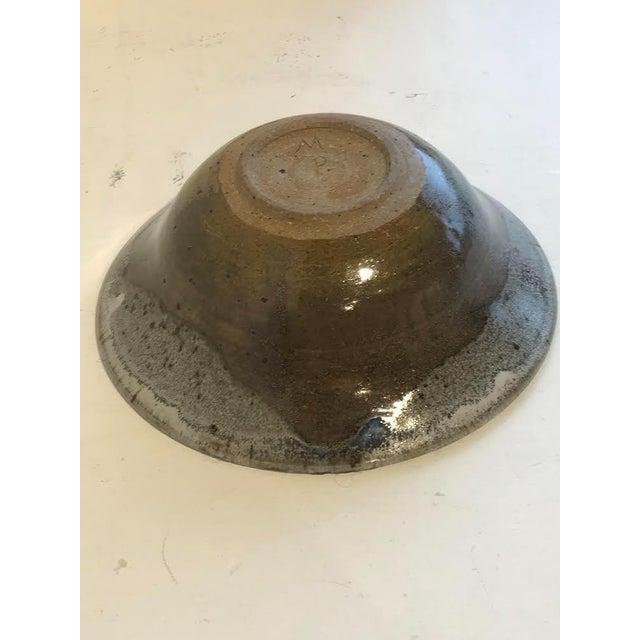 Contemporary Vintage Minimalist Studio Ceramics Bowl For Sale - Image 3 of 5