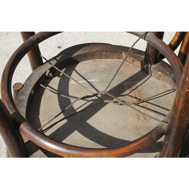 Mundus and J J Kohn Ltd Bentwood Chairs - Set of 6 For Sale - Image 10 of 12