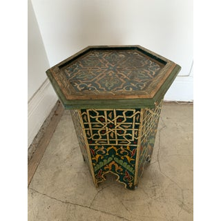 Vintage Moroccan Side Table Preview