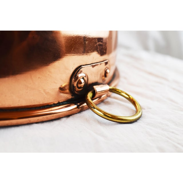Brass Handmade Copper Bowl For Sale - Image 7 of 11
