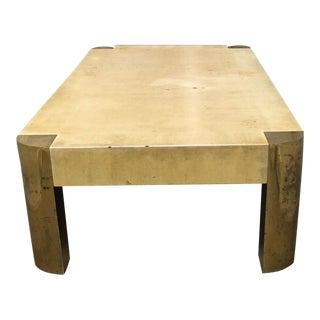 Karl Springer Table For Sale