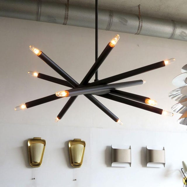 Gallery L7 Spiral Orb Chandelier For Sale In Los Angeles - Image 6 of 11