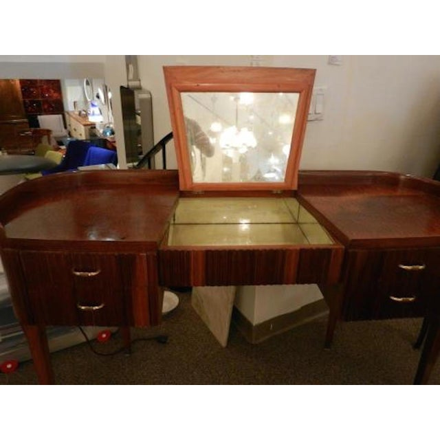 Paolo Buffa Paolo Buffa Modernist Vanity or Dressing Table For Sale - Image 4 of 5
