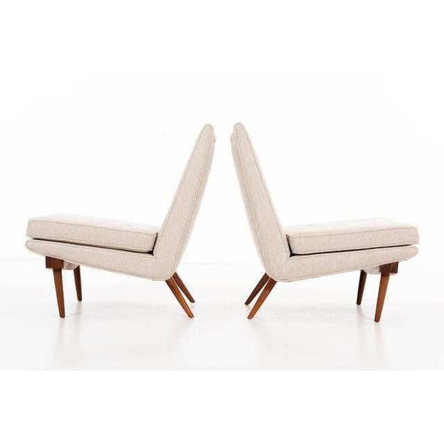 Mid-Century Modern George Nakashima Pair of Chairs For Sale - Image 3 of 9