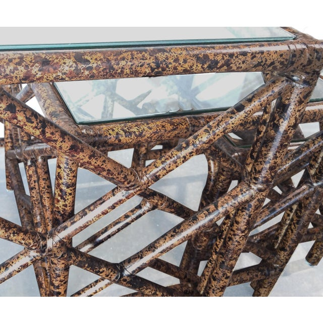 David Francis Chinese Chippendale Nesting Tables Set Of