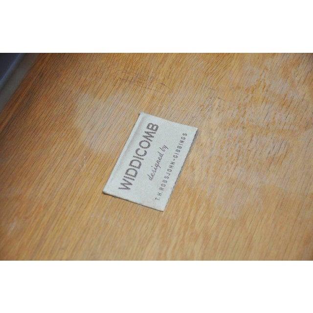 Brass T.H. Robsjohn-Gibbings Dresser with Brass Legs For Sale - Image 7 of 8