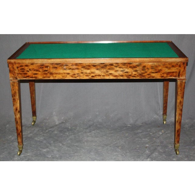French Directoire Bureau Plat With Game Table - Image 3 of 5