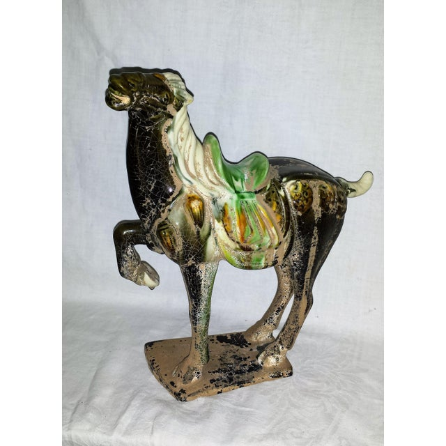 Asian Vintage Chinese Tang Horse For Sale - Image 3 of 8