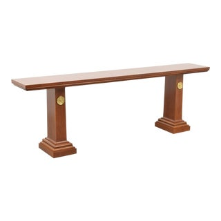 Rare and Large t.h. Robsjohn-Gibbings Console Table for Saridis of Athens For Sale