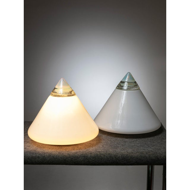 """Pair of """"Rio"""" Table Lamps by Giusto Toso for Leucos For Sale - Image 6 of 6"""