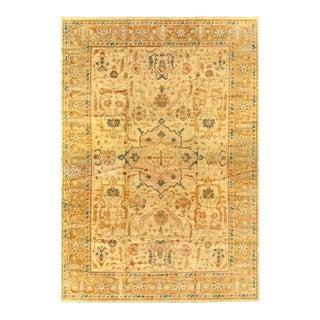 Pasargad Beige Fine Hand Knotted Zieglar Sultanabad Rug 12'6'' X 18' For Sale