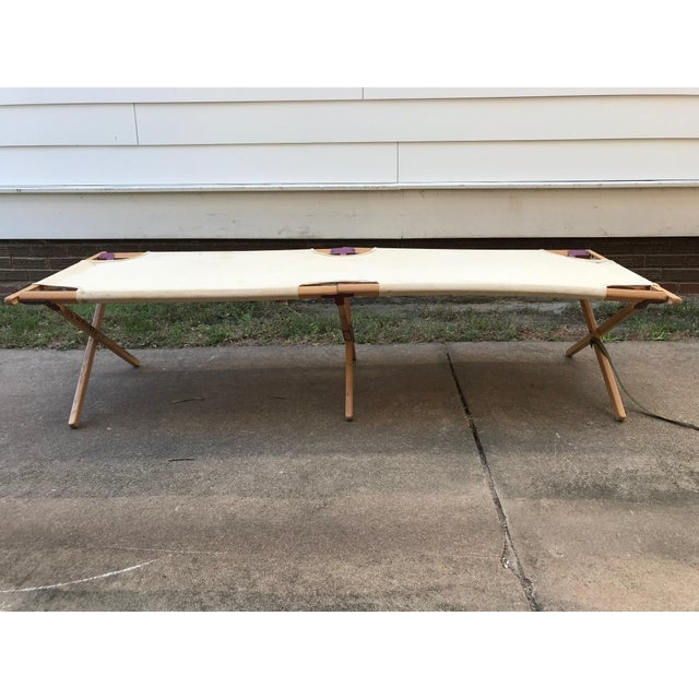 Vintage Collapsible Camping Cot For Sale In Wichita - Image 6 of 11