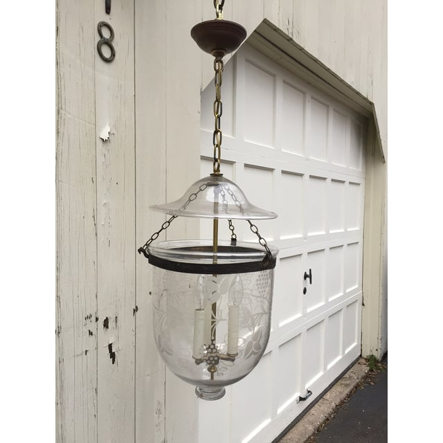 Late 19th Century Vintage Hanging Bell Jar For Sale - Image 11 of 11