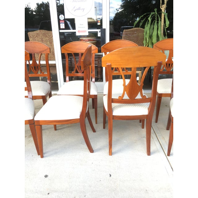 1990s Regency Dining Chairs - Set of 8 For Sale - Image 4 of 6