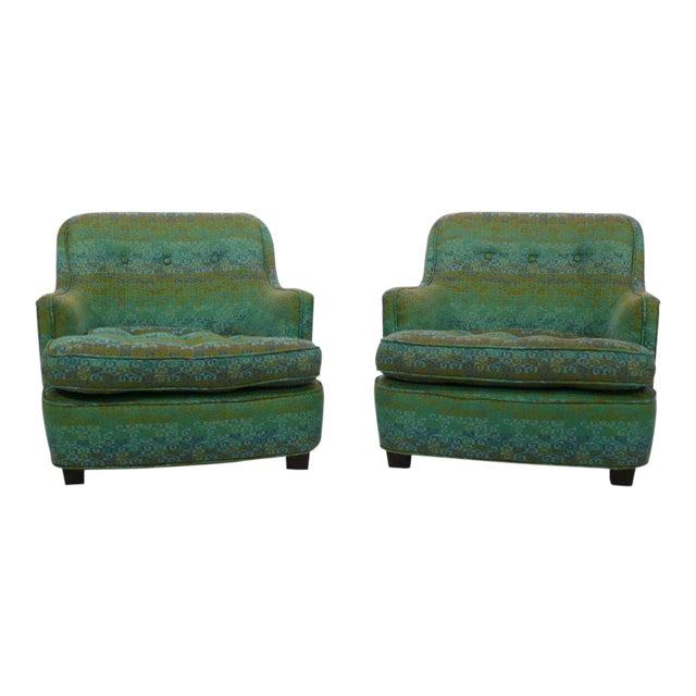 Diminutive Edward Wormley Dunbar Club Chairs For Sale