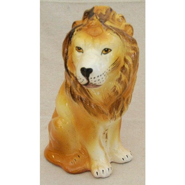 Mid-Century Italian Safari Lion - Image 3 of 8